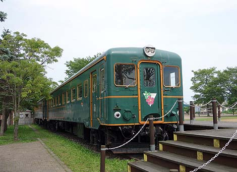 鉄道車両を利用した無料簡易宿泊所がある!「道の駅おこっぺ」(北海道紋別郡興部町)