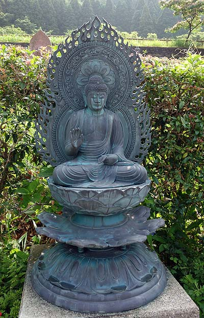 富山の山中に何百体も石像がなんで陳列??「おおさわの石仏の森&ふれあい石像の里」(富山市)
