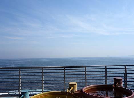 過去ここまですごいオーシャンビューの宿は体験したことがない・・・稲取温泉 石花海[せのうみ](静岡東伊豆)