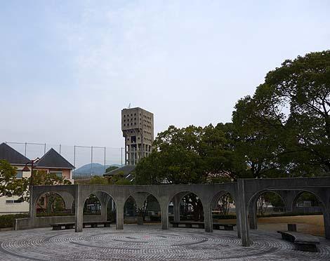 廃墟 旧志免鉱業所竪坑櫓(福岡志免町)B級珍スポット