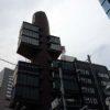 静岡新聞・静岡放送東京支社(東京新橋)珍建築