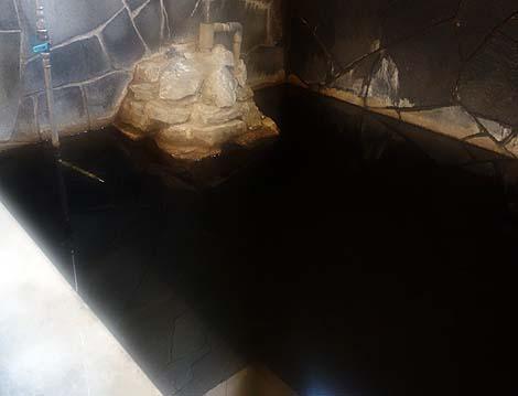 モール泉で墨汁のような色合いの源泉かけ流し!斜里温泉「湯元館」(北海道斜里)