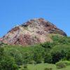 太平洋戦争まっただ中に現れた標高約400mのでっかい溶岩ドーム「昭和新山」(北海道有珠郡)