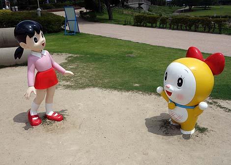 あのドラえもんの空き地でドラえもんのキャラクターに出逢えます♪「高岡おとぎの森公園」(富山高岡)