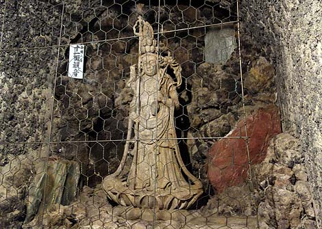 間違えて入館してしもた・・・約400mの洞窟の中に多数の観音様が!高崎洞窟観音(群馬高崎)