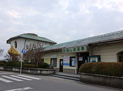 カッパ伝説の町なんで・・・^^「田主丸駅」(福岡久留米)B級珍スポット