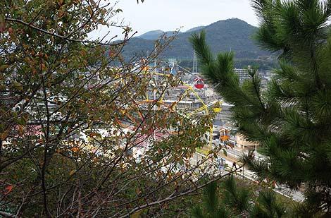 手柄山中央公園(兵庫姫路)回転展望台とスリラー塔/B級珍スポット