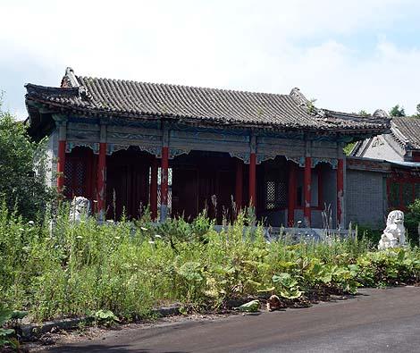 廃墟となった中華テーマパーク「天華園」(北海道登別)