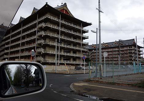 市全体が一つの宗教都市ってのも日本では珍しい「天理教協会本部」(奈良県天理市)