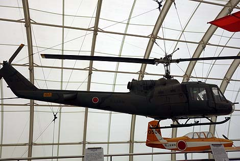 日本で初めて飛行場が出来た場所に建てられた航空機博物館「所沢航空発祥記念館」(埼玉所沢)