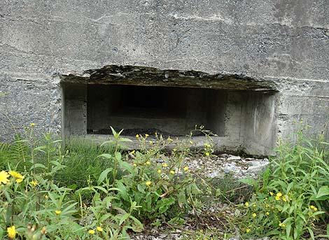 北海道太平洋岸にいくつも残るアメリカ軍に備えたトーチカ跡(北海道大樹町)戦時遺産