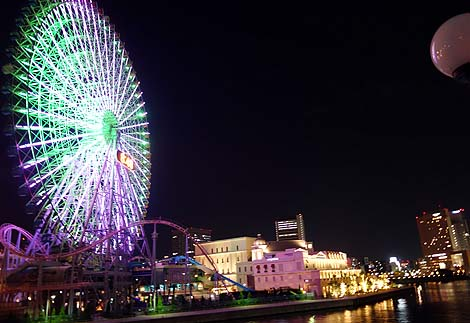 一度は見てみたかった横浜みなとみらいの夜景(神奈川)夜景写真撮影