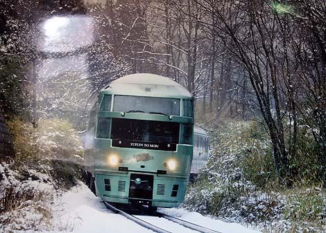 博多~由布院(別府)を結ぶ、豪華観光特急列車(ゆふいんの森)ハッピーバースデイ九州パスその5